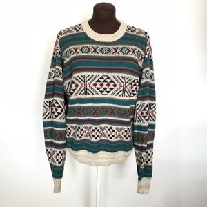 Vintage Tribal Sweater Size XL